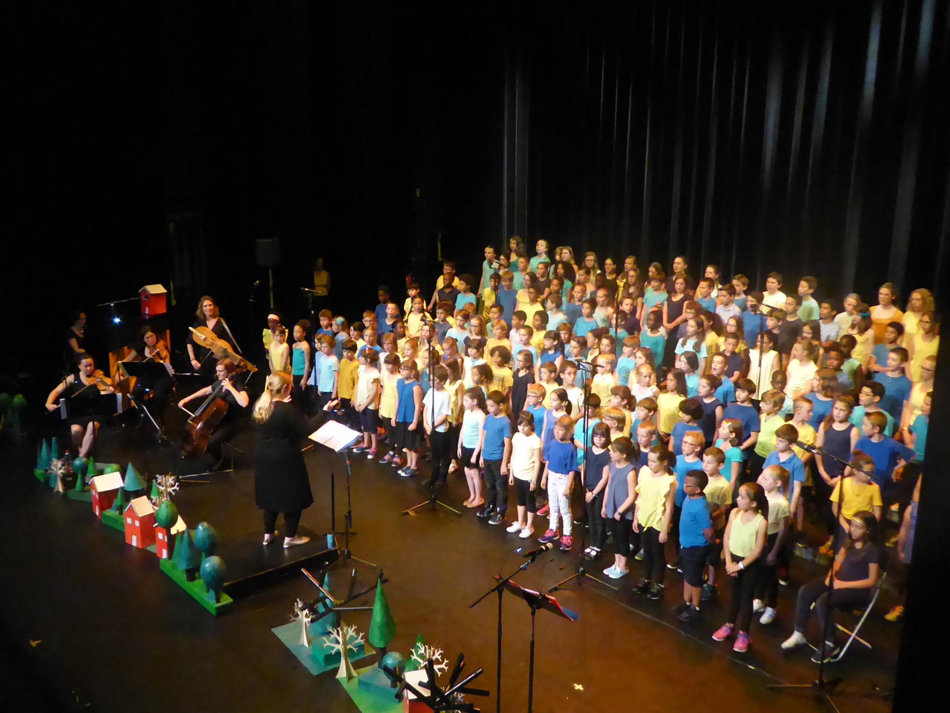 Projet Chant'école
