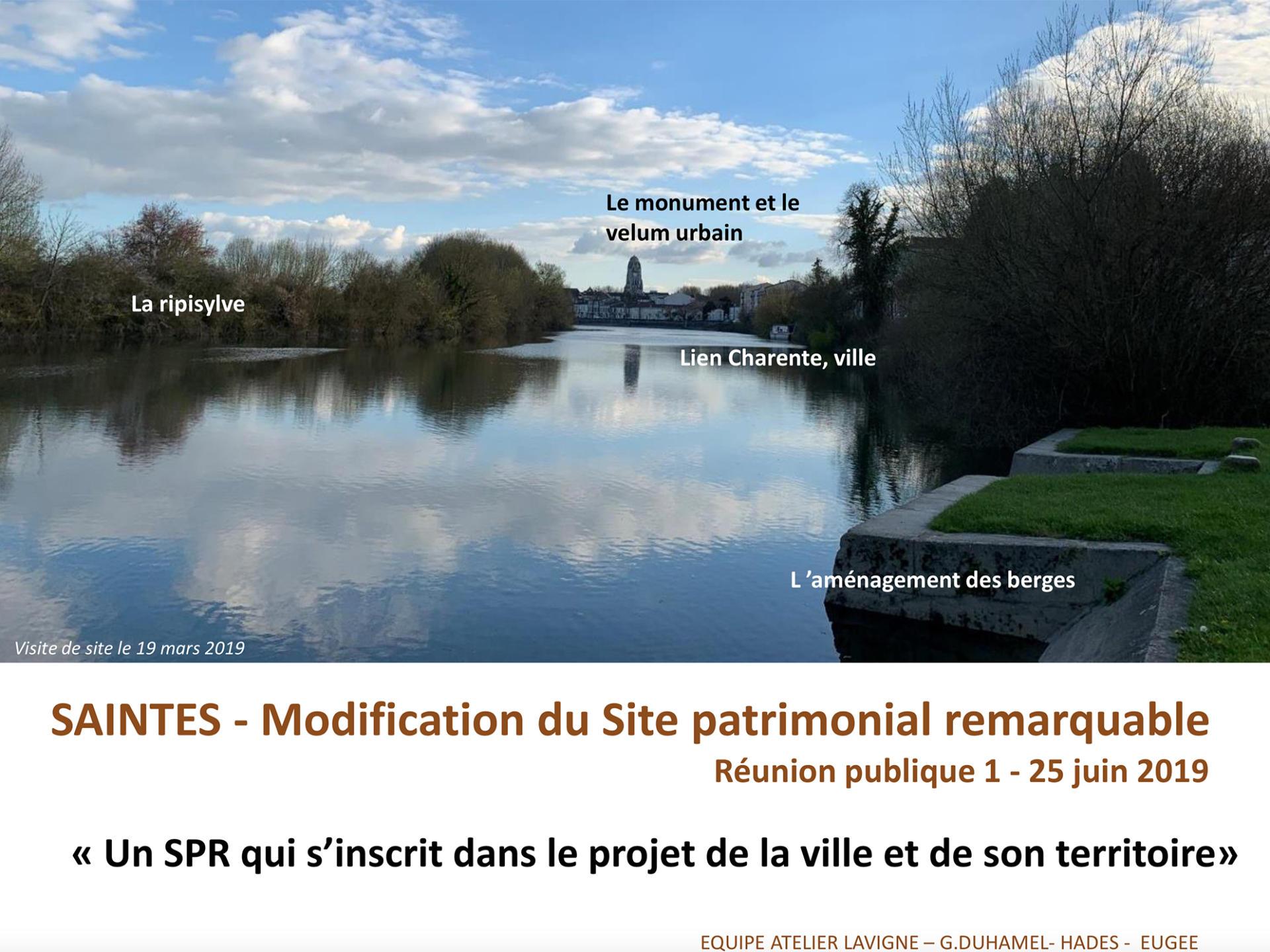 Modification Site Patrimonial Remarquable