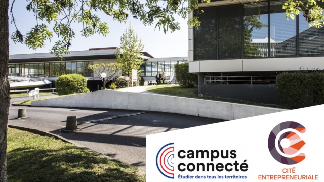 Campus connecté cité entrepreneuriale