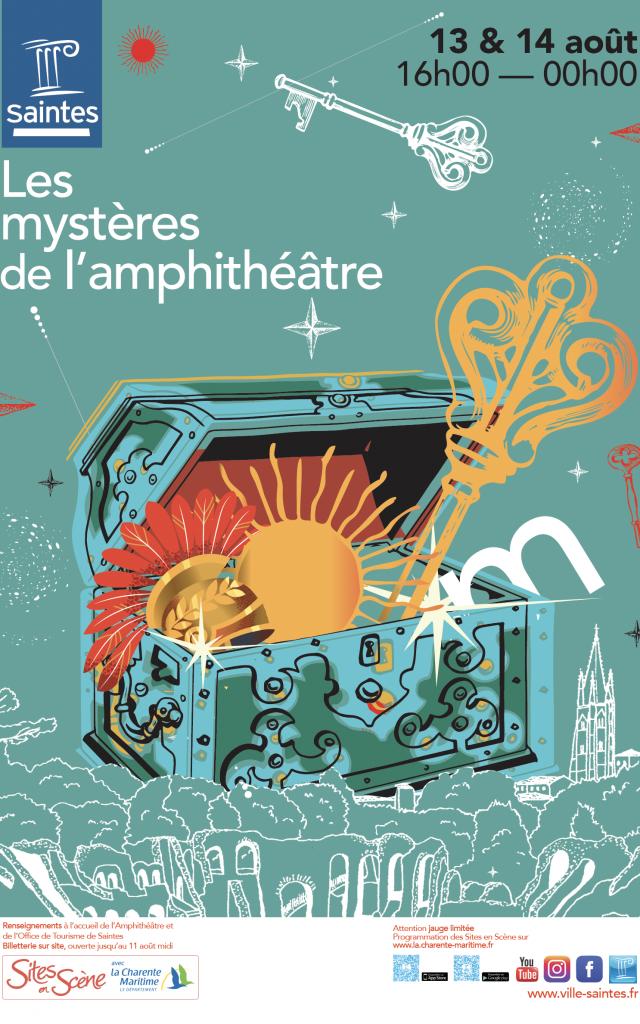 Les Mystères De L'amphi Site En Scene