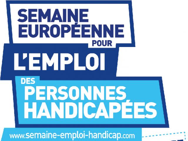 Logo Semaine Emploi Personnes Handicapees