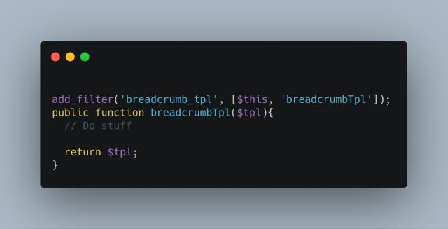 Breadcrumb Tpl