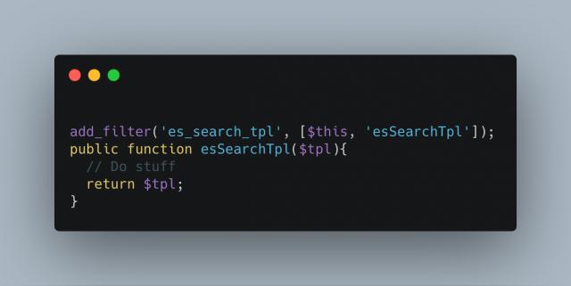 Es Search Tpl