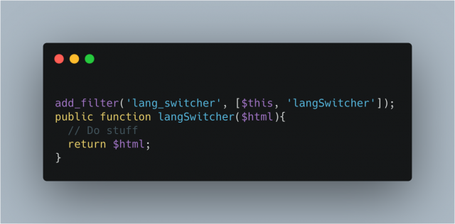 Lang Switcher