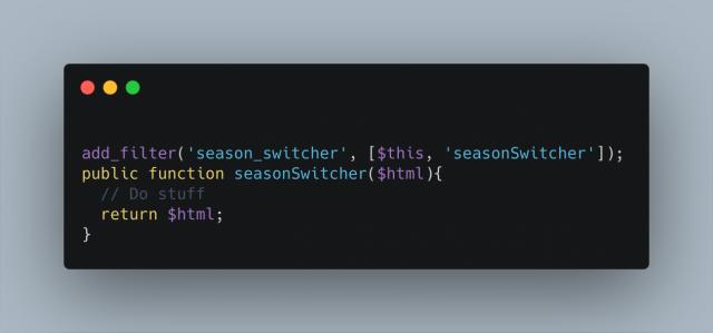 Season Switcher