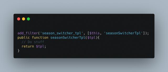 Season Switcher Tpl