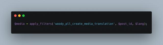Woody Pll Create Media Translation