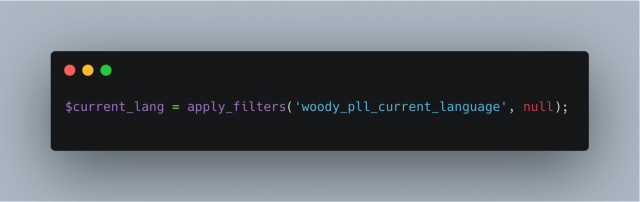 Woody Pll Current Language