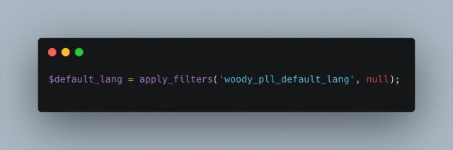 Woody Pll Default Lang